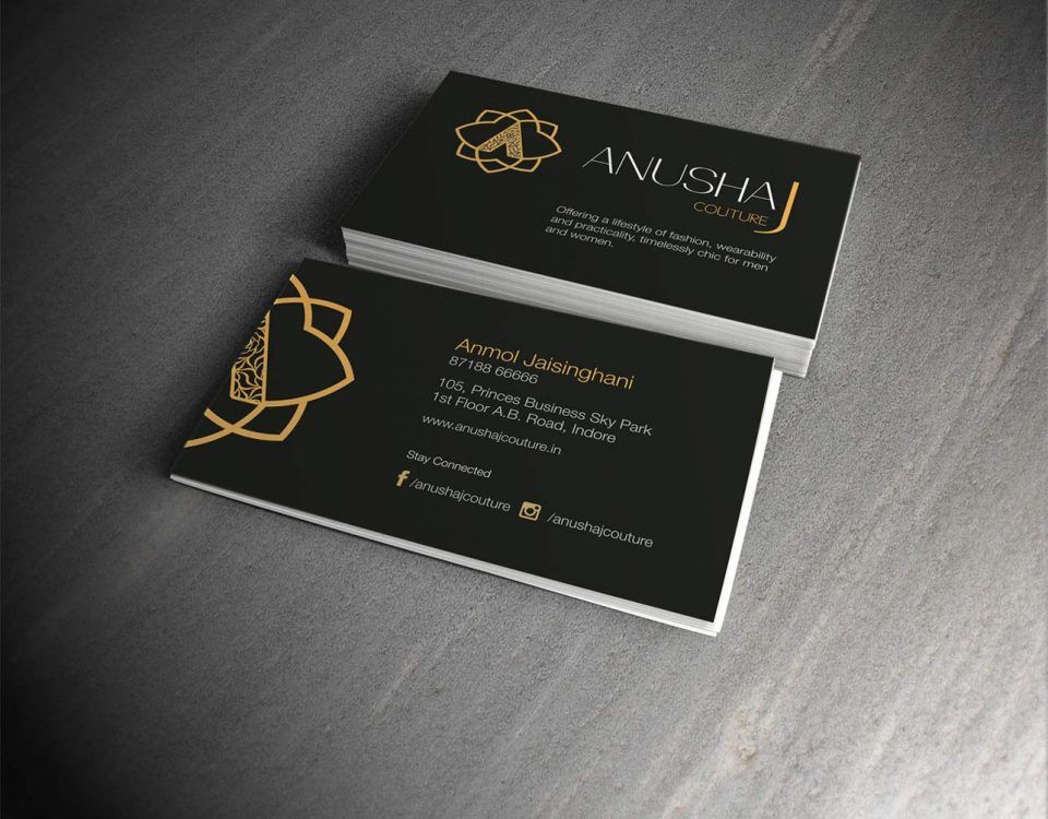 business cards brochures stationery printing services in mumbai and indore - Business Card Printing Services